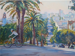 Dolores St. San Francisco 30x40