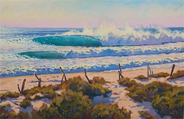 Green Wave Harvest 24x36 sold