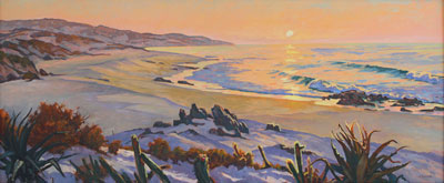 East Cape Sunrise 30x72 sold