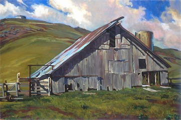 BARN CAYUCOS 24X36 sold