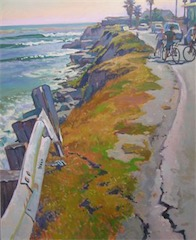 Life On The Edge 30x24 o-c sold