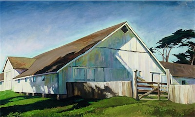 Pierce Barn, Point Reyes 36x59 sold