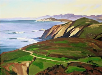 Pierce Point, Point Reyes 16x20 sold