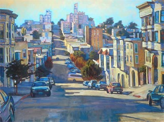 CHESTNUT ST SAN FRANCISCO 36X48 sold