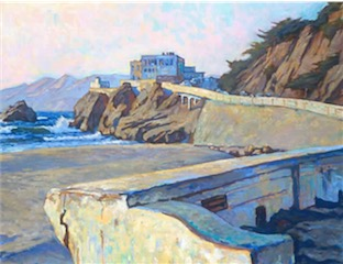CLIFF HOUSE OCEAN BEACH SAN FRANCISCO 24X30 sold