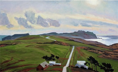 Storm, Point Reyes 20x30 sold
