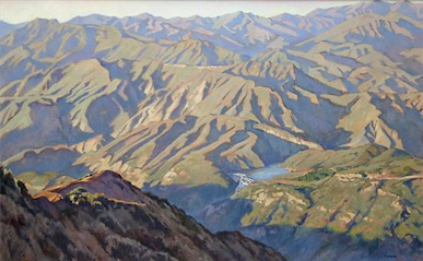 Los Padres Back Country 30x48 sold