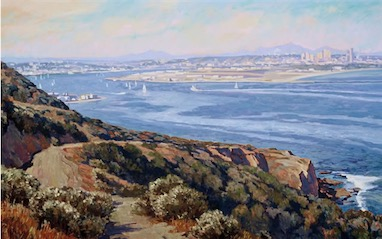 San Diego from Point Loma30x50 sold
