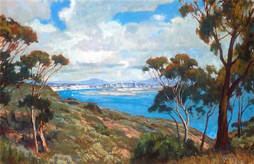 SPRING POINT LOMA 24X36 sold