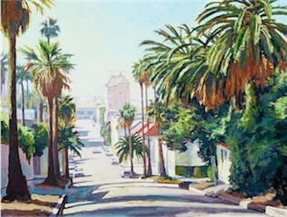 Whitley Avenue, Hollywood 36x48 sold