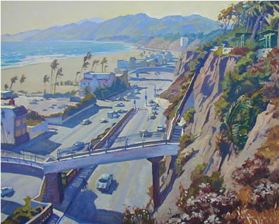 Windy Day California Incline 30x36 sold